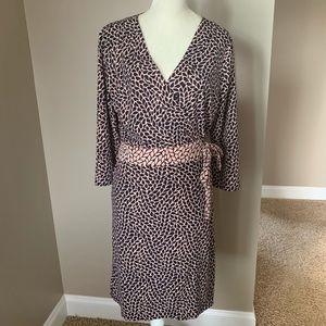 Ann Taylor wrap Dress Size 14